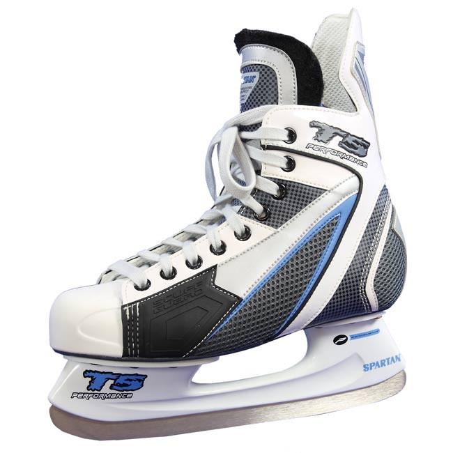 Zimní / Lední / Hokejové brusle MONTREAL bílo - modré vel. 36 - 47