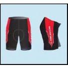 dámské shorts černo/červené