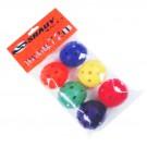 Florbalové míčky balení 6 ks