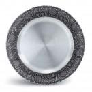 Talíř cínový pro gravírování  průměr - 23 cm