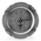 Cínové nástěnné hodiny římské číslice
