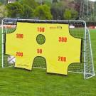 Fotbalová branka s terčem ocelová 290 x 165 cm