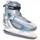 Zimní / Lední / Hokejové brusle VANCOUVER KIRA modro - bílé vel. 36 - 47