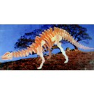 Prostorová 3D dřevěná skládačka - Brachiosaurus A5x2