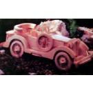 Prostorová 3D dřevěná skládačka - Auto-veterán, Packard Twelve A4x2