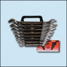 sada plochých klíčů 6-22 mm 8 dílů chrom