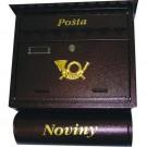 Poštovní schránka 39 x 44 cm ST 104