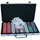 Poker set 300 - ORIG.CZ Basic – žetony s potiskem v alu kufru POKER - SET