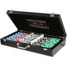 Poker set 500 - ORIG.CZ Premium – v koženém kufru
