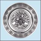 Nástěnný talíř - Zima