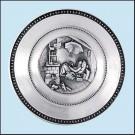 Nástěnný talíř - Chudý básník