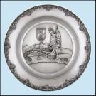 Nástěnný talíř - sv. Florián