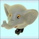 Gumová dětská houkačka na dětské kolo, odrážedlo, kočárek SLON