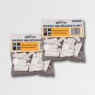Zednické klínky PVC 0-4mm/100ks