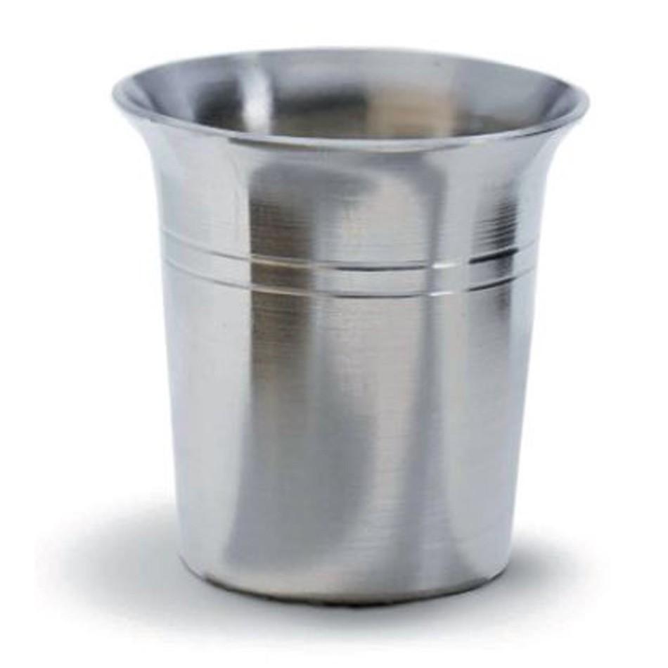 Cínový pohár - štamprle - výška 4,5 cm