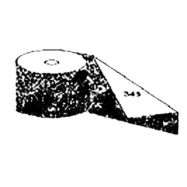 Brusná role plátno 150 mm / zrnitost 100