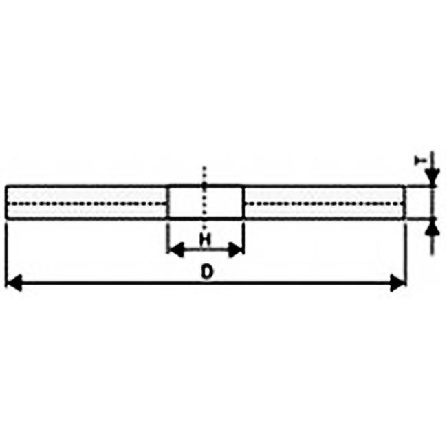 PROFI FLEX kotouč řezací a drážkovací / na kov / 115 x 1,6 x 22,2 mm