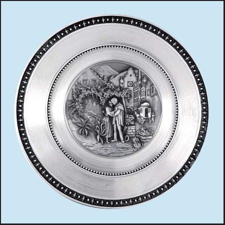 Nástěnný talíř - Romance
