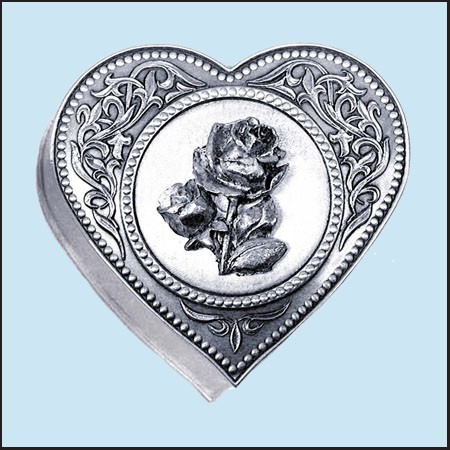 Dósa srdíčko - Růže