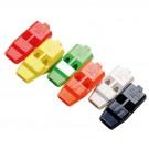 Plastová píšťalka - různé barvy