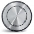 Talíř cínový pro gravírování  průměr - 28 cm