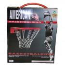 Koš na basketbal s pružinou + síť