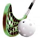 Florbalová sada : branka + 2 hokejky + míček