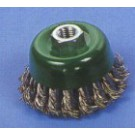 1261460    Čelní copánkový  _D=75mm,M14 pro ÚB drát _ 0,60 ocel