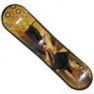 Snowboard žluto - hnědý 95 cm