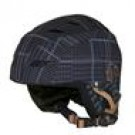 Helma na snowboard / lyže šedo - hnědá