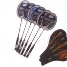 Badmintonová raketa + obal SADA 30 ks