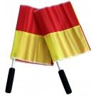 Praporky pro čárového rozhodčího 2 ks ( žlutý, červený )