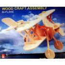 Prostorová 3D dřevěná skládačka - Letadlo A5x2