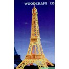 Prostorová 3D dřevěná skládačka - Eiffelova věž A4x3