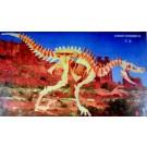 Prostorová 3D dřevěná skládačka - Ornithomus A4x2
