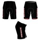 pánské Team shorts černé